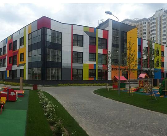 Дошкольное образовательное учреждение на 350 мест (пос. Внуковское, ул. Анны Ахматовой, д. 16А)